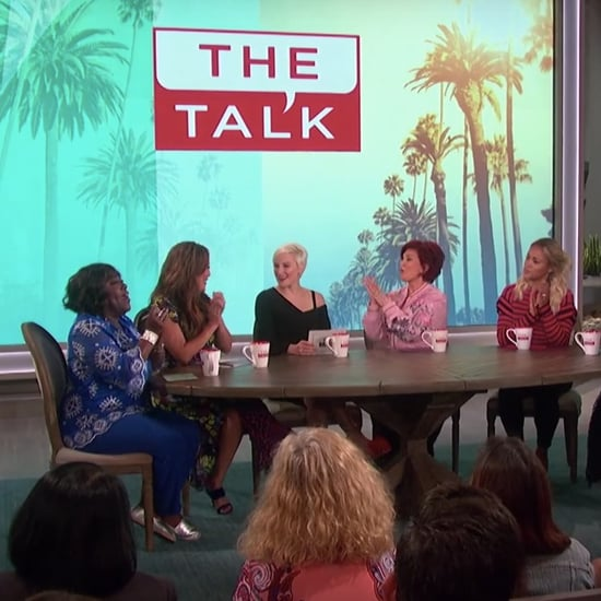 POPSUGAR Lindsay Miller on The Talk May 2018
