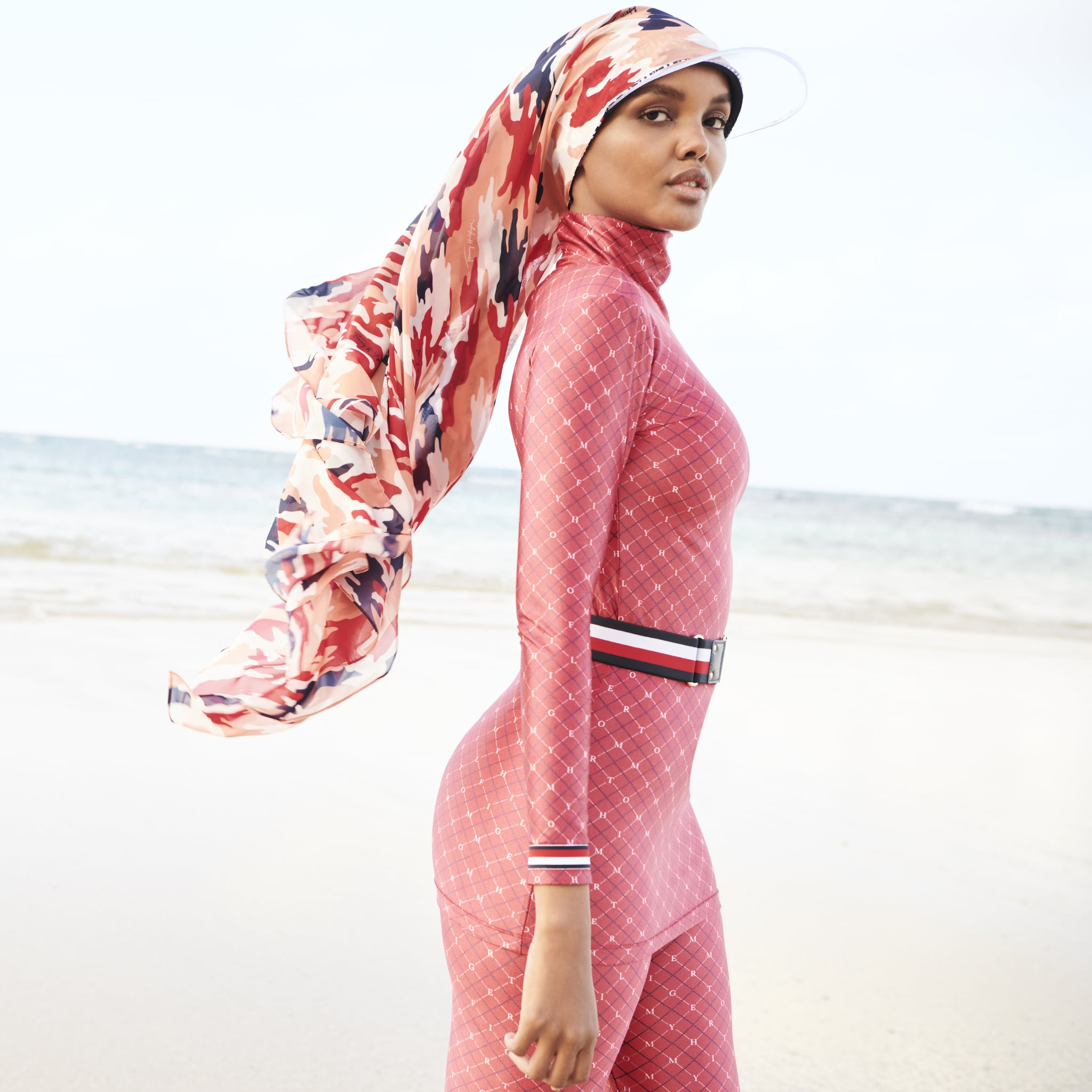 Halima Aden In Sports Illustrated S Swimsuit Issue 2020 Popsugar Fashion