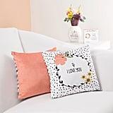 Floral Love Pillow