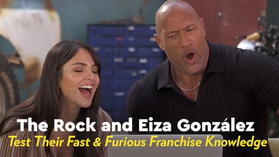 We Quizzed The Rock And Eiza Gonzalez On Their Fast And Furious Knowledge And Damn They Re Good