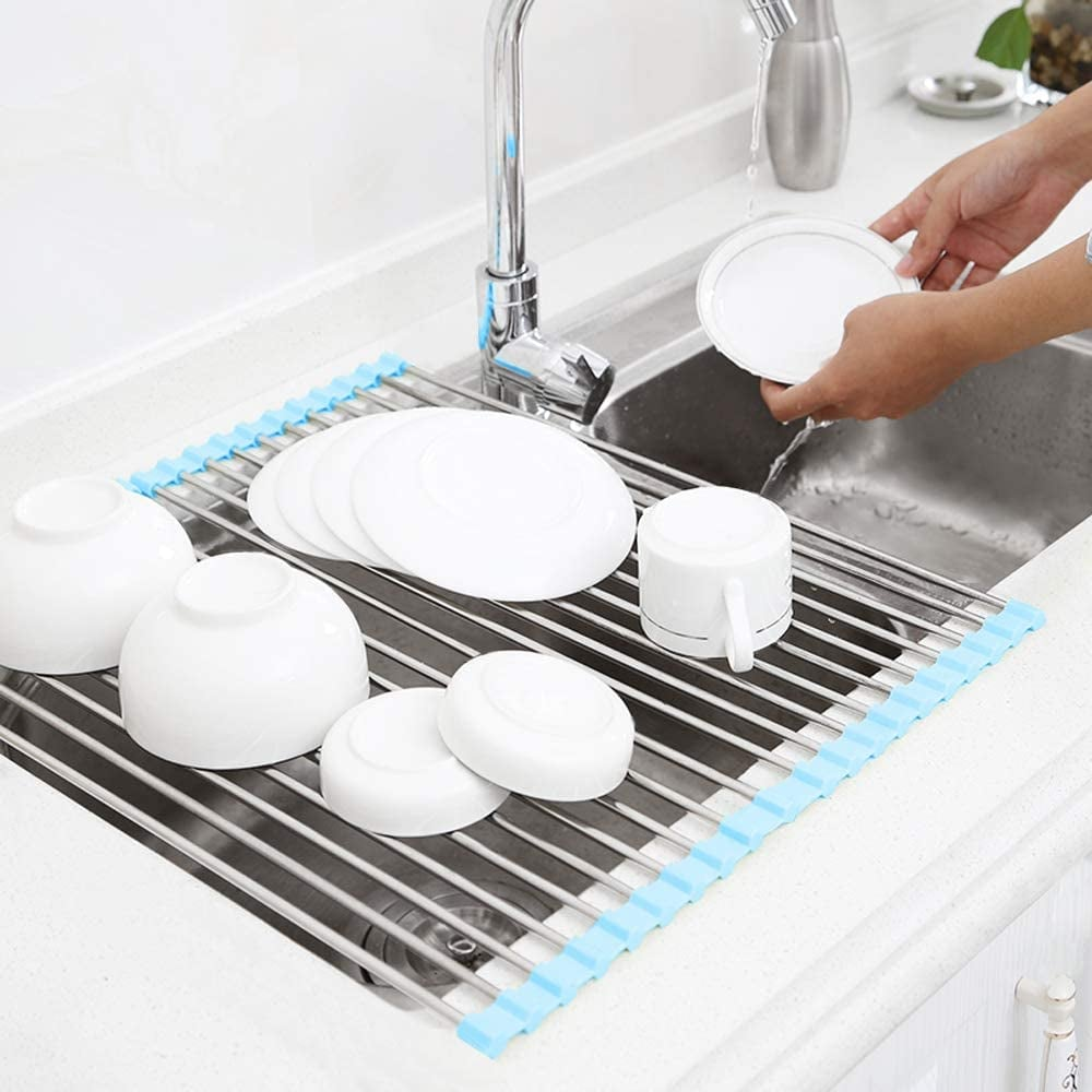 Rollable Dish Drying Rack