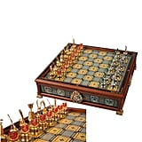 The Hogwarts Houses Quidditch Chess Set ($300)