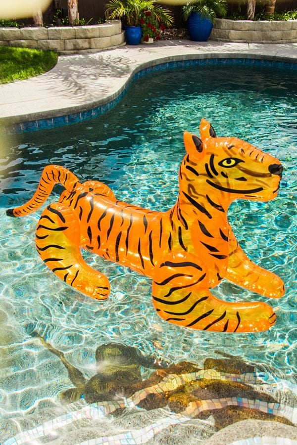 Glitter Tiger Pool Float