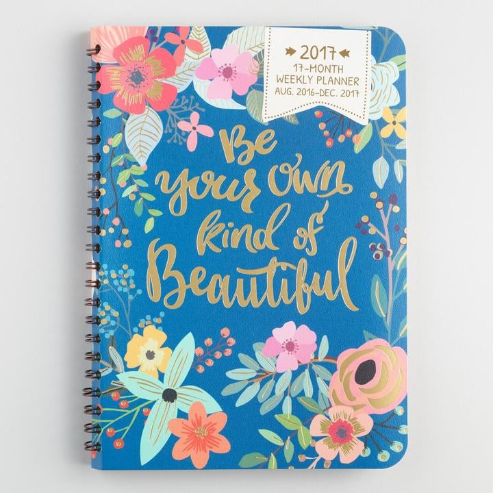 Be Your Own Kind of Beautiful Weekly Planner