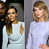 Kanye West and Kim Kardashian vs. Taylor Swift