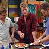 The group date involved all the guys and called for them to make dinner for Bachelorette Sam.