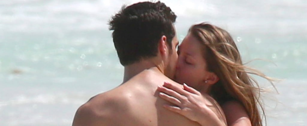 Supergirl Couple Melissa Benoist and Chris Wood Make Out in Mexico
