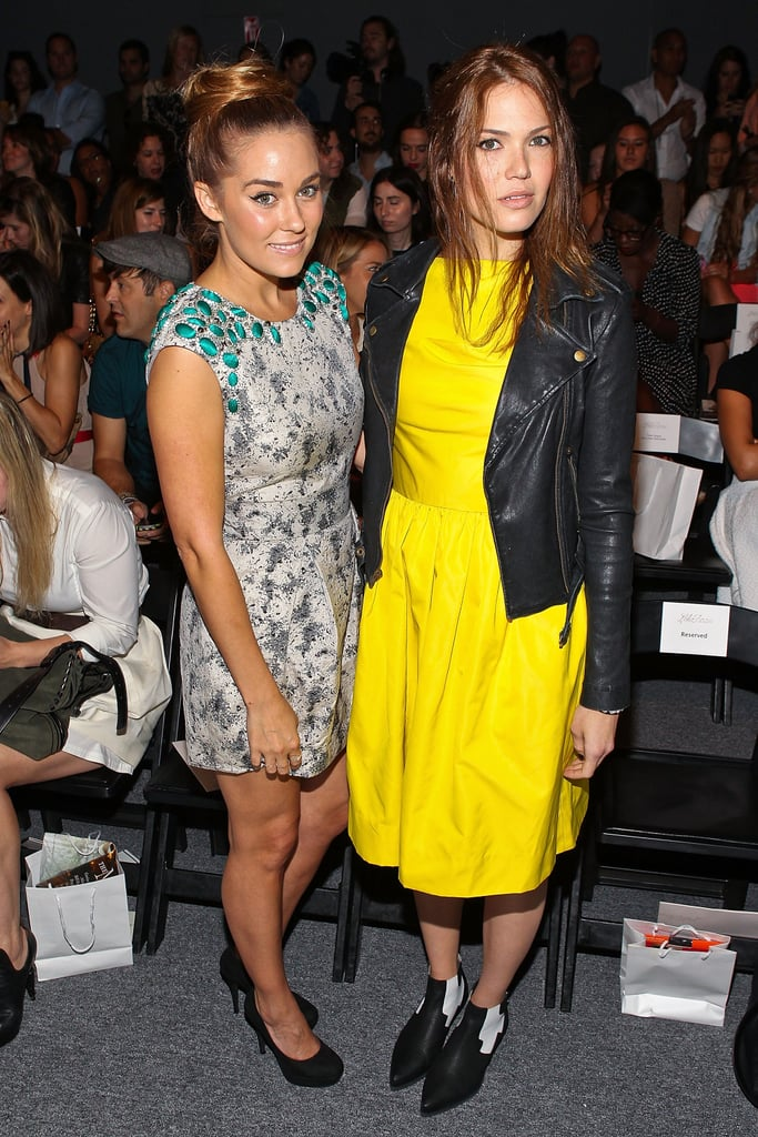 Lauren Conrad and Mandy Moore went to Lela Rose.