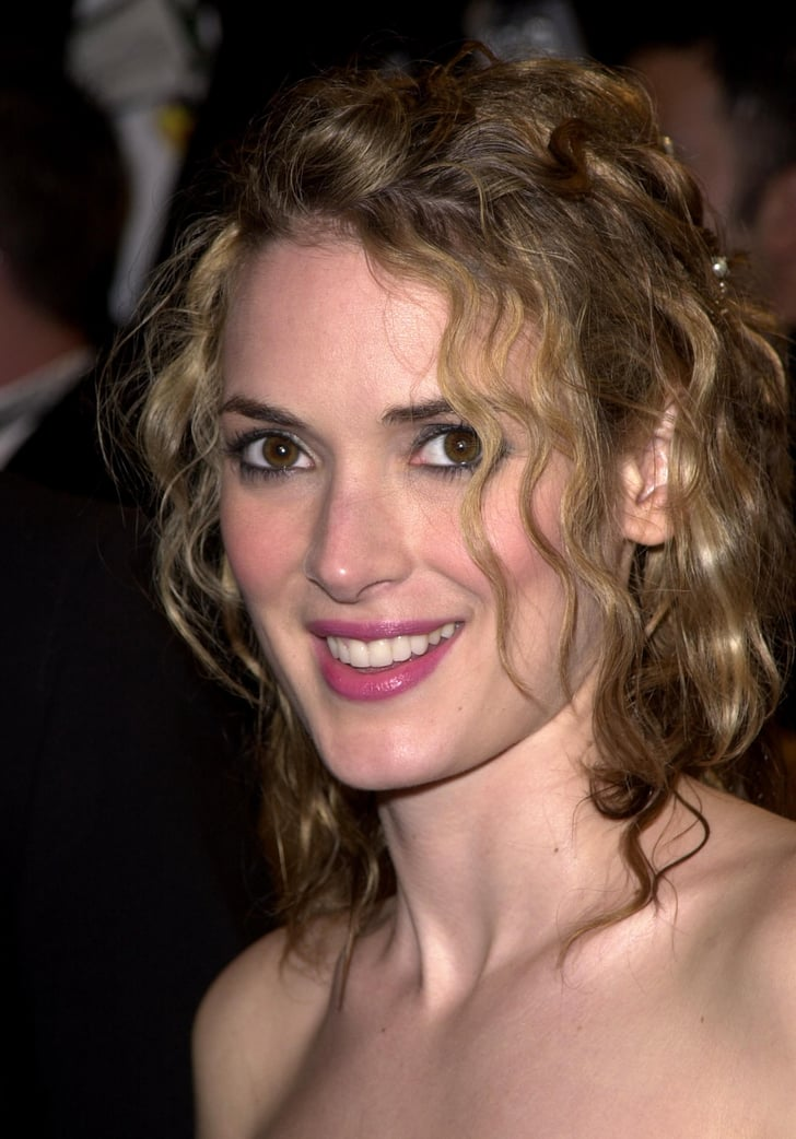 Winona Ryder With Dirty Blond Hair What Is Winona Ryder S Natural Hair Color Popsugar