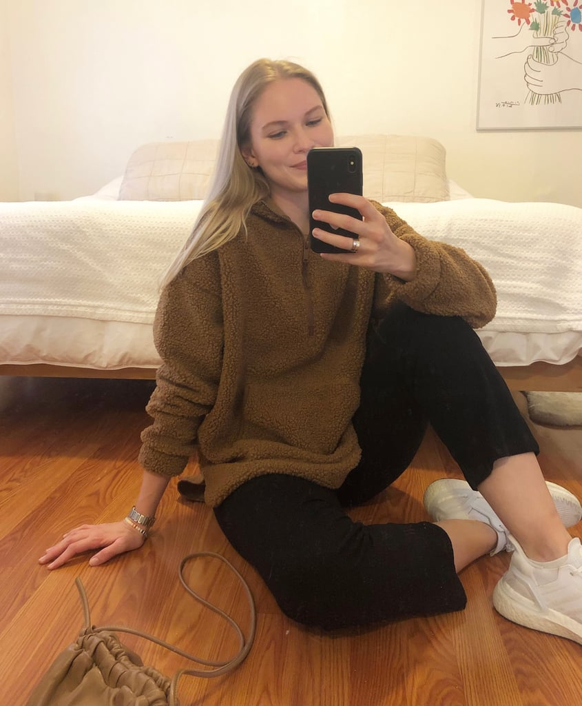 Cozy Sherpa Hoodie From Old Navy | Editor Review