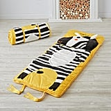 For 3-Year-Olds: The Land of Nod's Wild Zebra Sleeping Bag
