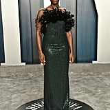 Lashana Lynch at the Vanity Fair Oscars Afterparty 2020