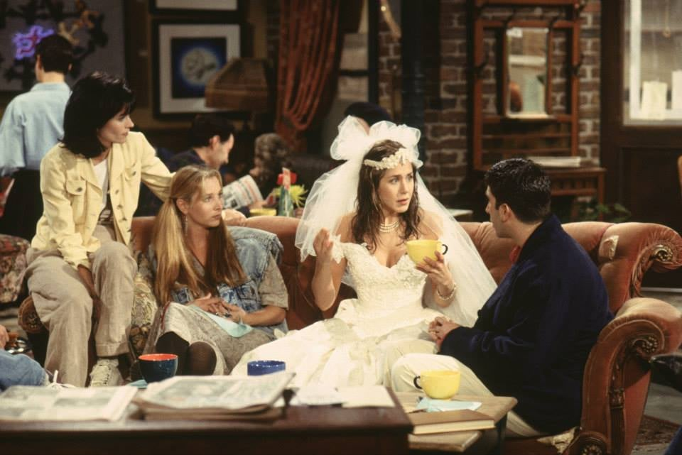 Rachel Could Rock a Wedding Dress in a Coffee Shop