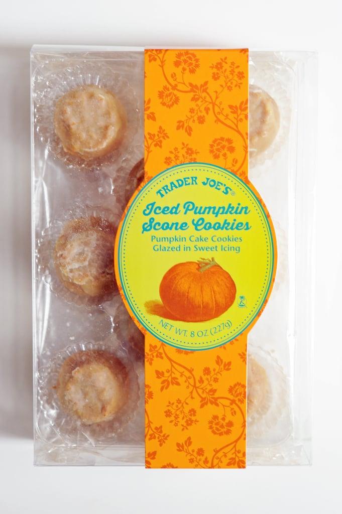 Trader Joe's Iced Pumpkin Scone Scones
