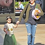 On Saturday, Sarah Michelle Gellar stepped out in LA for a birthday party with her daughter, Charlotte.