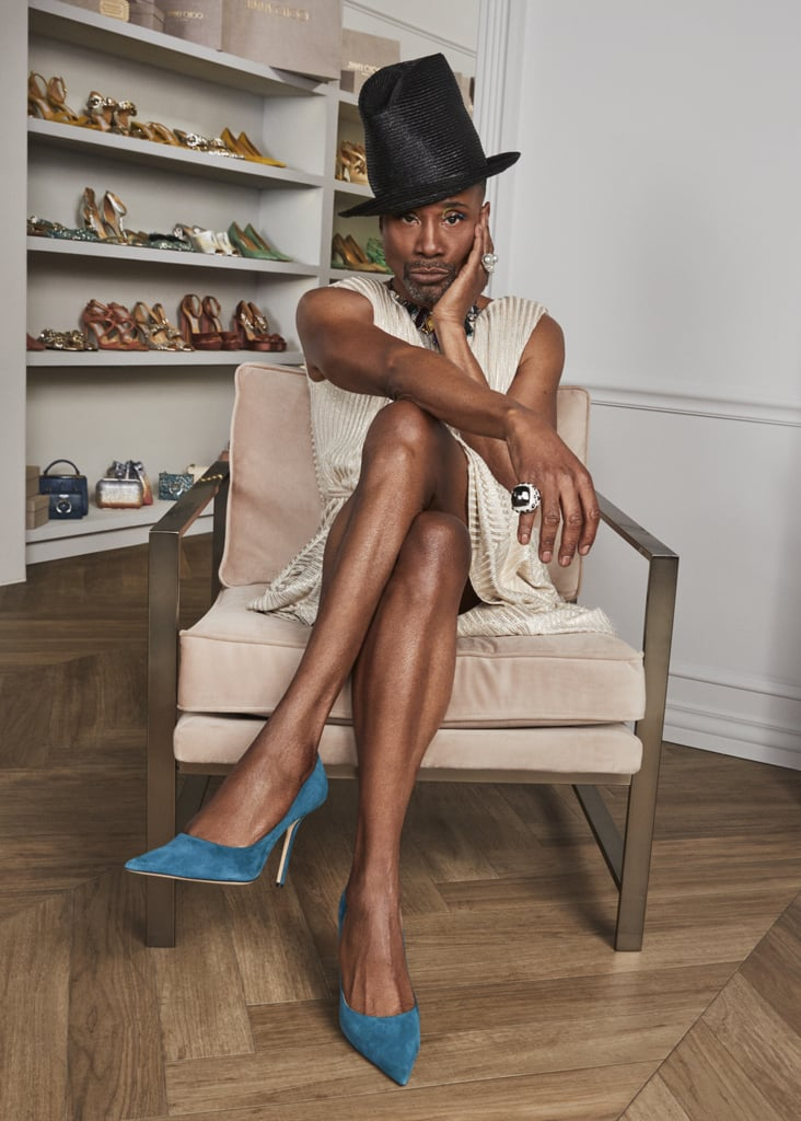 Billy Porter's Jimmy Choo Pride Collection and Campaign