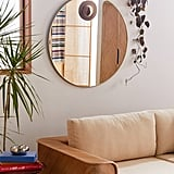 Metallic Hub Wall Mirror