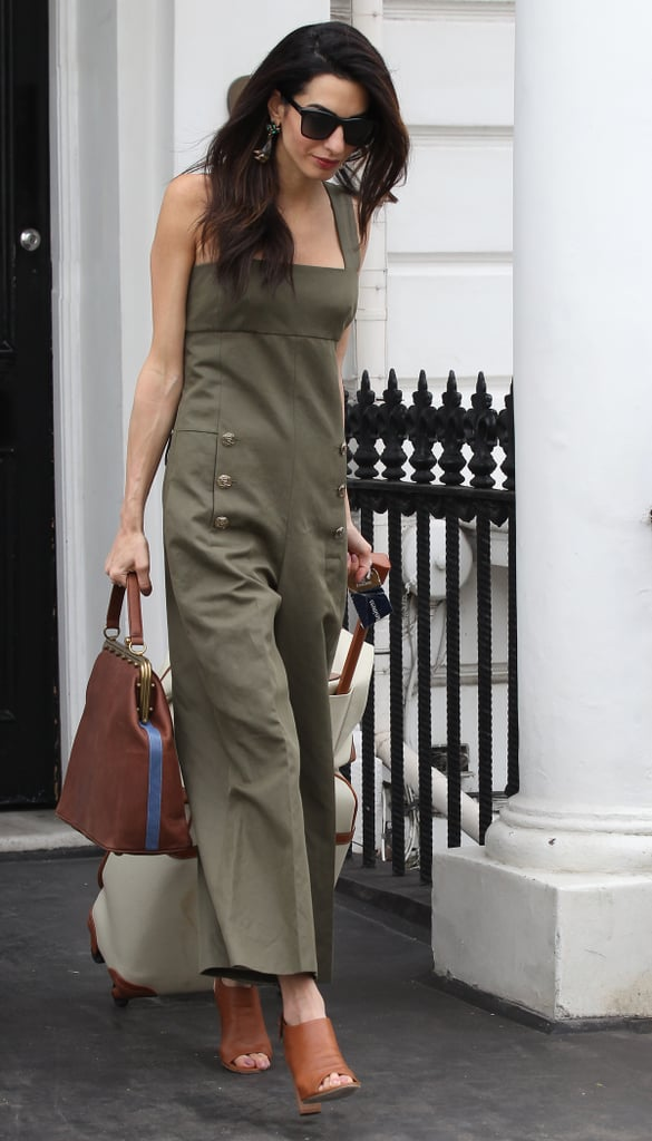 A Tailored Jumpsuit in a Neutral Tone — That Might Also Happen to Match Your Luggage