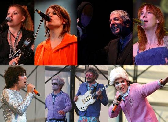 Photos From The Big Chill 2008 Featuring Noel Fielding, Julian Barratt, Beth Orton, Lykke Li, Camille, Leonard Cohen
