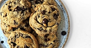 These Almond Chocolate Chip Cookies Will Have Healthy Snackers With a Sweet Tooth Salivating