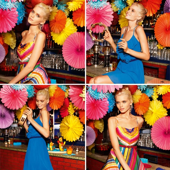 Pictures of Abbey Lee Kershaw in Portmans Party Dress 2012 Campaign Shot in New York City
