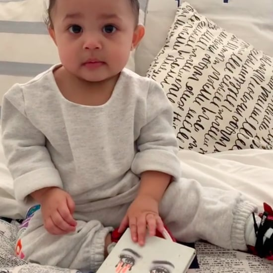 Kylie Jenner Teaches Stormi to Say Kylie Cosmetics Video