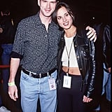 Cary Elwes and Lisa Marie in Las Vegas in 1995