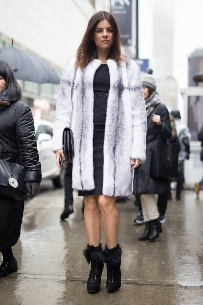 A Luxe, Furry Coat