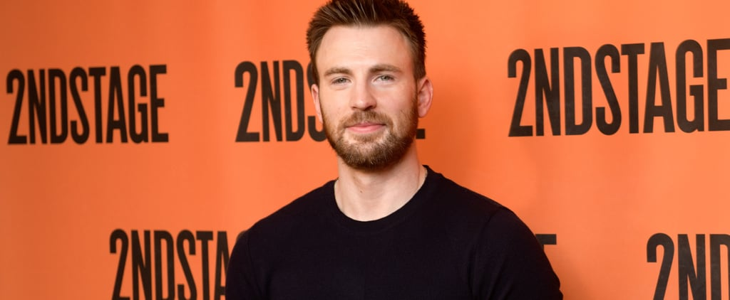 Chris Evans Meeting His Rescue Dog For the First Time Video
