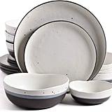 Gibson Elite Rhinebeck 16-Piece Double Bowl Dinnerware Set