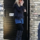 Kate Moss Shows Her Shorts Around a New Town