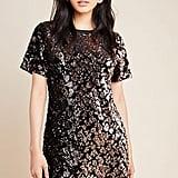 Ro & De Andi Sequinned Tee Dress