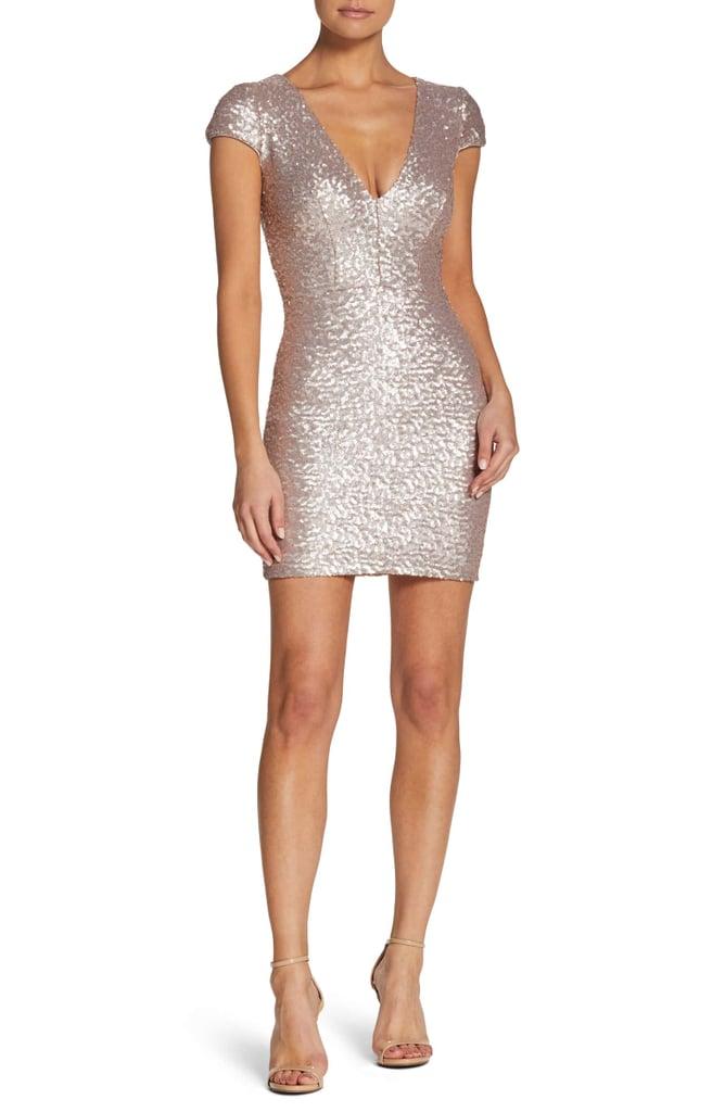 253719cd5651 Dress the Population Zoe Sequin Minidress   Best Sparkly Dresses ...