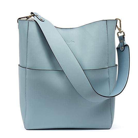 Bostanten Leather Bucket Bag
