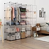 Cube Organizer Stackable Closet Cabinet