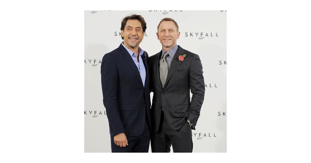 Daniel Craig And Javier Bardem Pictures To Announce Start