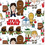 Star Wars Stylized Characters Christmas Wrapping Paper Roll
