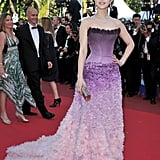 Fan Bing Bing in Atelier Versace