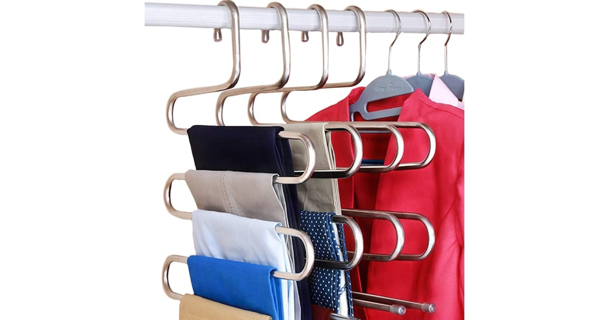 DOIOWN S-Type Stainless Steel Pants Hangers