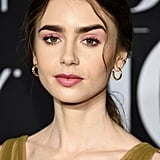 Lily Collins at the Harper's Bazaar ICONS Party