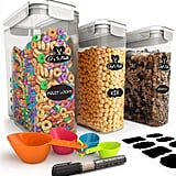 Chef's Path Cereal Storage Container Set