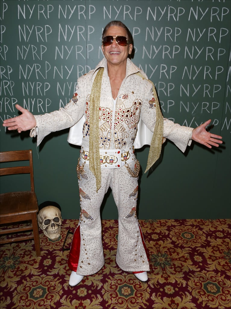 Tony Danza was Elvis at the Hulaween Gala in New York in 2014.