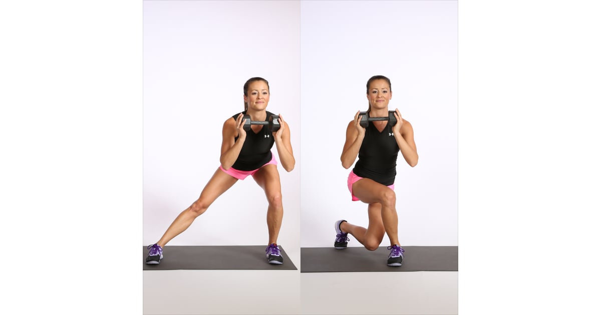 Circuit One: Side Lunge to Curtsy Squat | Workout For Abs