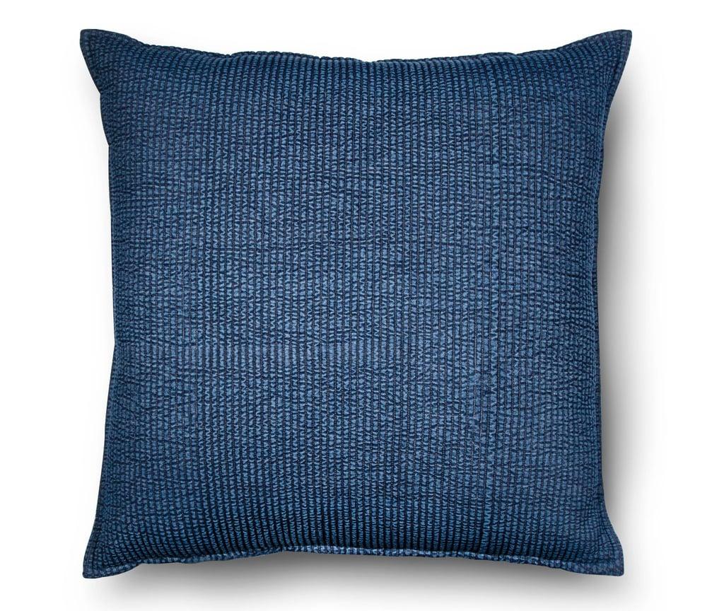 Threshold Blue Oversized Chambray Denim Throw Pillow