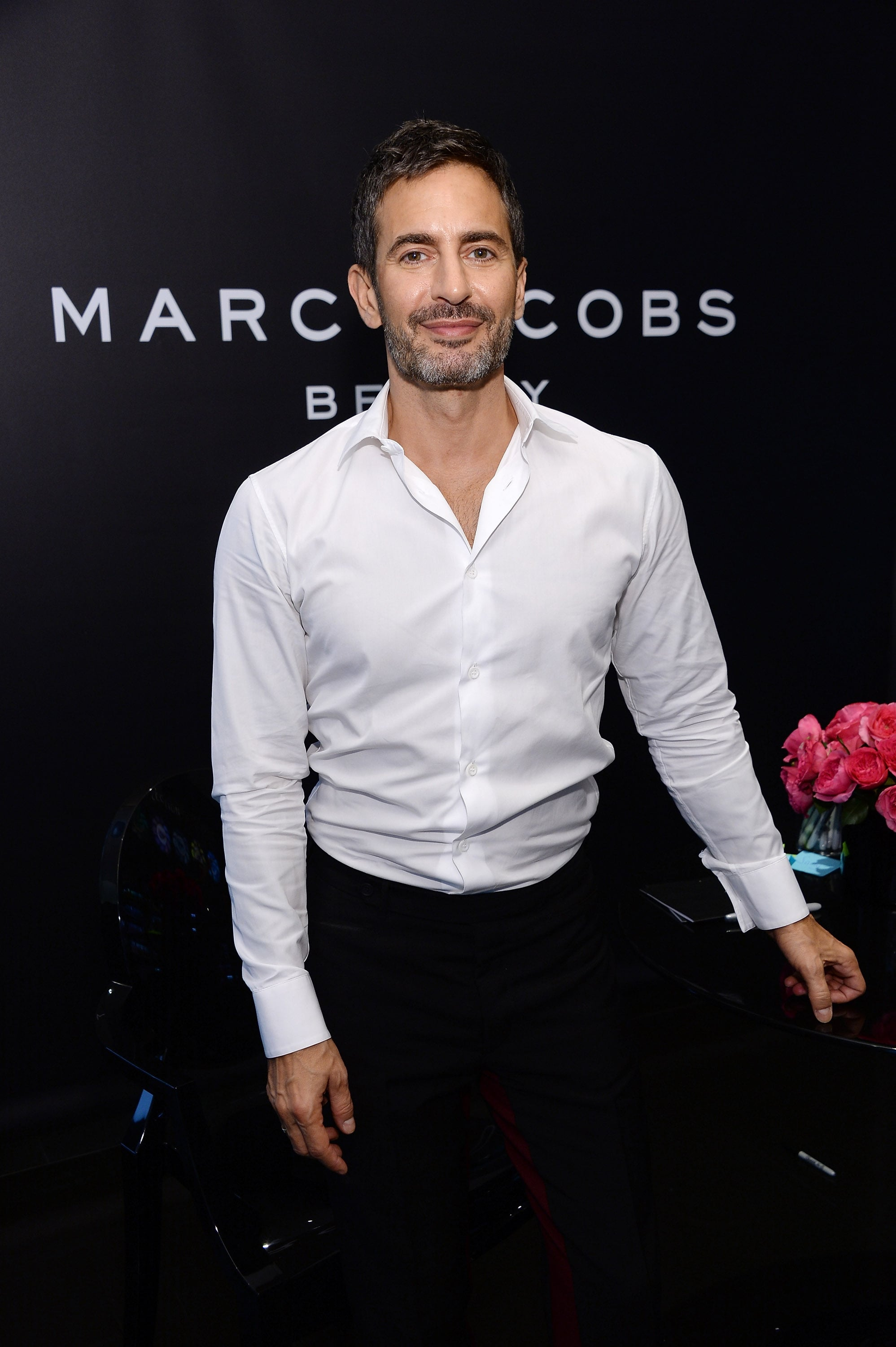Marc Jacobs made an appearance at SoHo's Sephora to greet fans and debut his makeup collection.