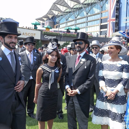 Dubai Royal Sheikha Al Jalila at Ascot Day 1