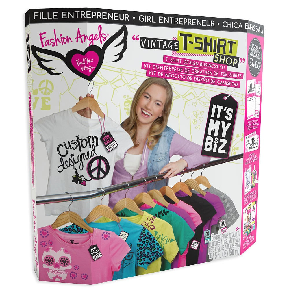 For 8-Year-Olds: Fashion Angels It's My Biz Vintage T-Shirt Shop