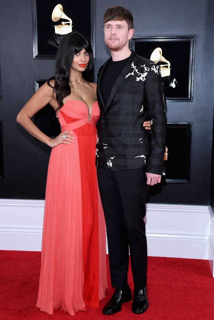 Jameela and James at the 2019 Grammys