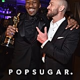 Pictured: Justin Timberlake and Mahershala Ali