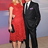 Claire Danes and Valentino Garavani took advantage of a photo op.